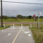 Current South End of Progress Energy Trail at Belleair Road