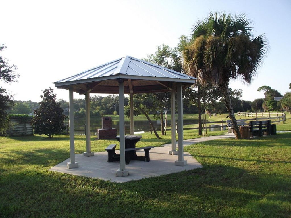 Venetian Waterway Trail - Gazebo
