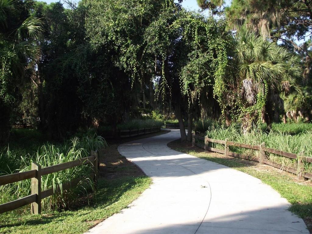 Venetian Waterway Park - General Trail Shot