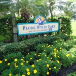 Flora Wylie Park Sign
