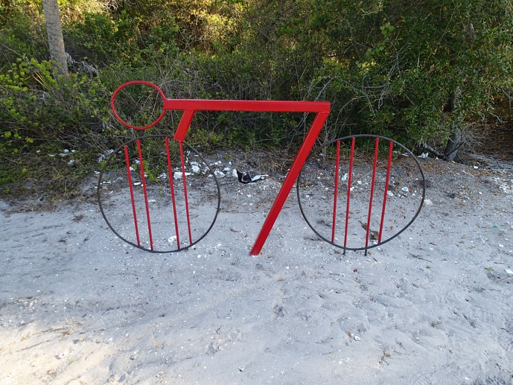 North Bay Trail - Weedon Island Bike Stand