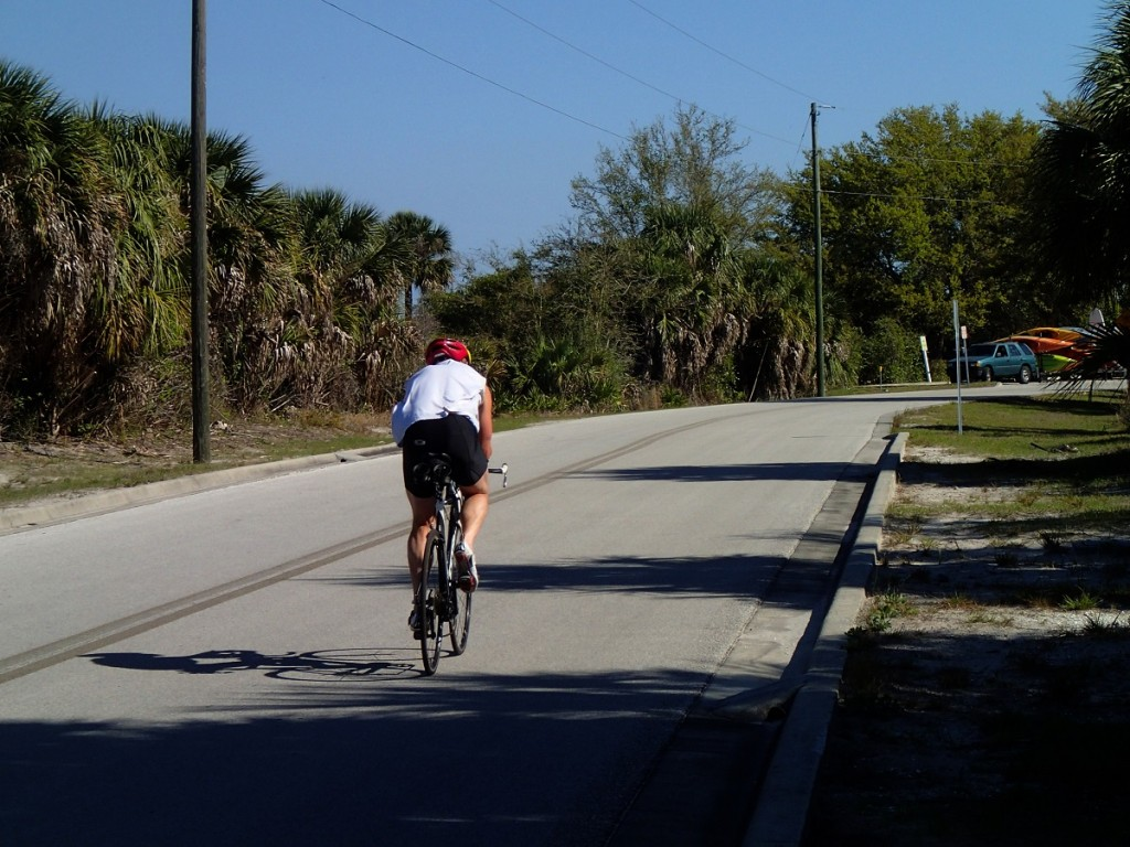 North Bay Trail - Weedon Island Cyclist