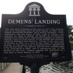 North Bay Trail - Demens Landing Sign