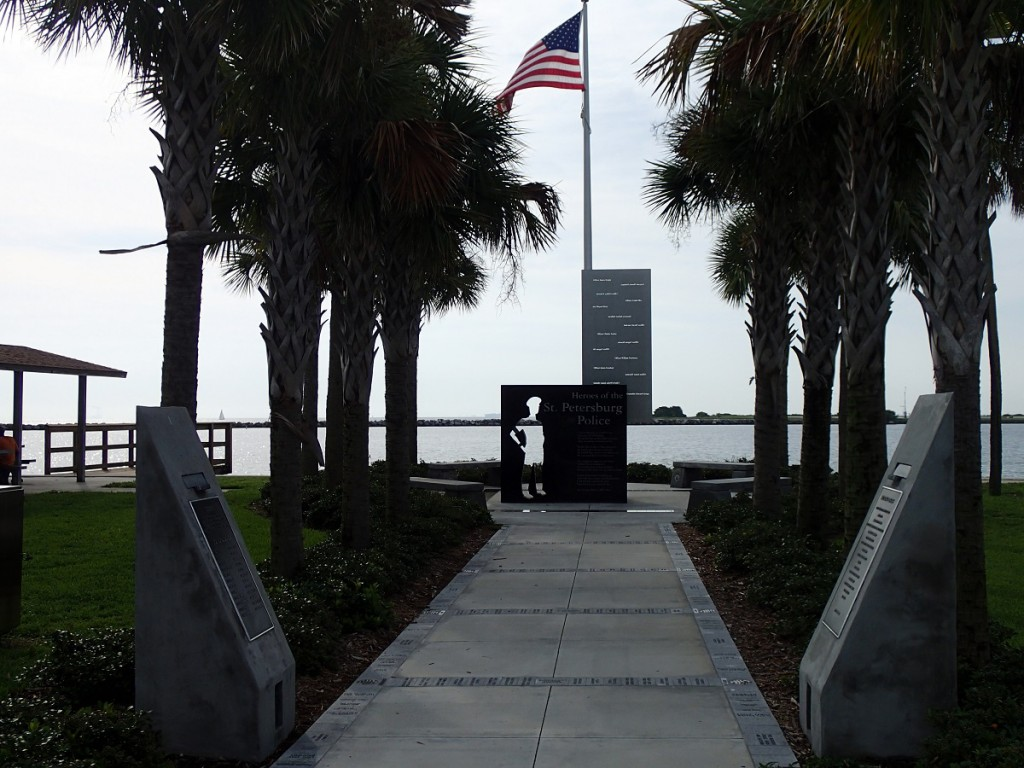North Bay Trail - St. Petersburg Police Memorial