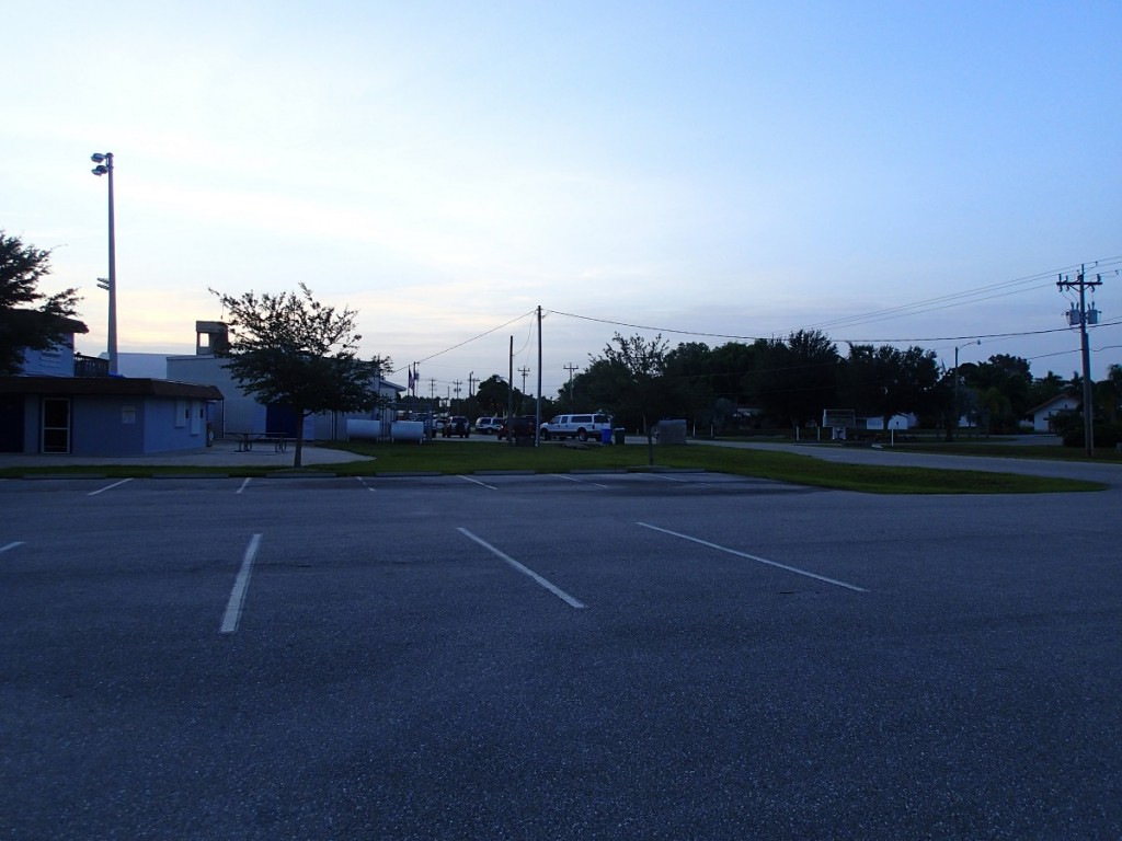 Phillips Park parking lot.