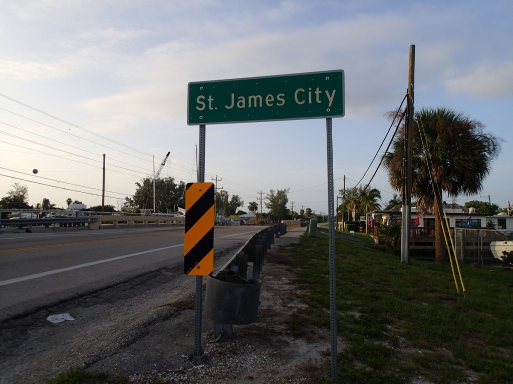 St. James City Sign
