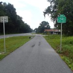 Suwannee River Greenway southern terminus