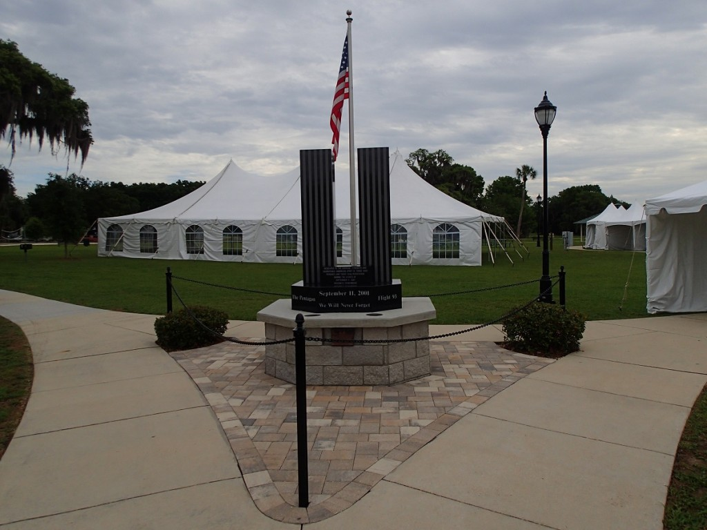 Withlacoochee State Trail - Liberty Park 9-11 Memorial