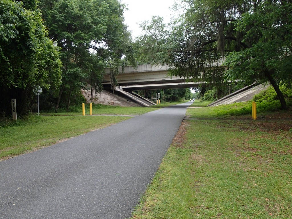 Withlacoochee State Trail - Highway 41 Underpass