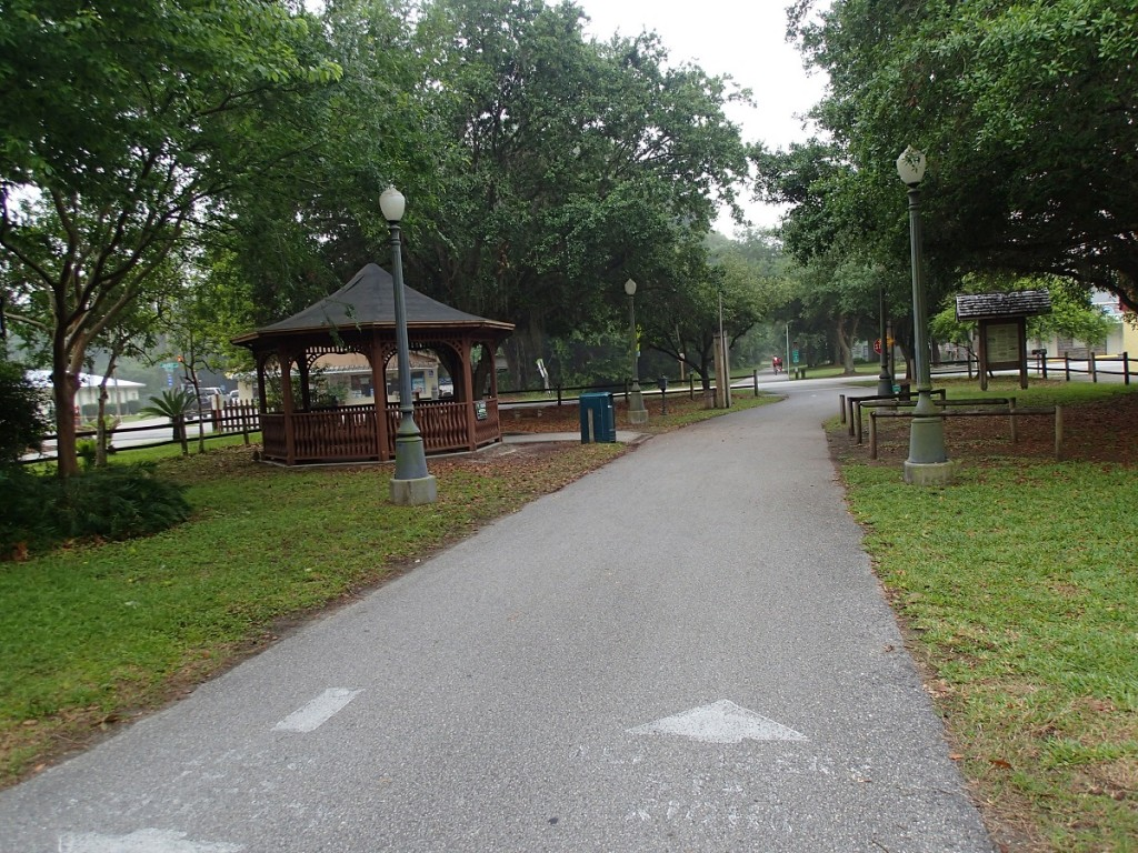 Withlacoochee State Trail - Floral City Gazebo
