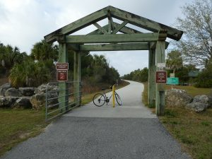 Withlacoochee Bay Trail - Entrance Arch