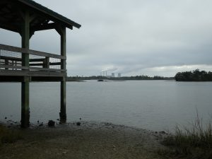Withlacoochee Bay Trail -Shelter & Duke Energy Crystal River Power Plant