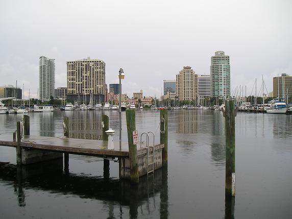 Pinellas Trail – Mile Marker 7 to Demens Landing (downtown St. Petersburg spur) – St. Petersburg, Gulfport, Pinellas County, Florida