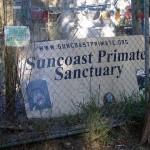 Suncoast Primate Sanctuary Sign