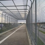 Bay Pines Overpass on the Pinellas Trail