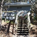 Restroom facilities in N. Anclote River Nature Park