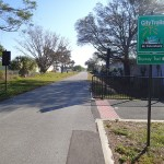 Skyway Trail Extension - Trail End at Pinellas Trail