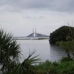 Skyway Trail - Distant view of Sunshine Skyway Bridge