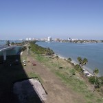 View to the Northwest from Clearwater Memorial Cuaseway Bridge