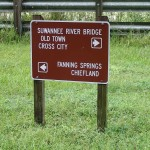 Nature Coast State Trail - Directional Trail Signs