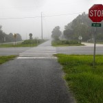 Nature Coast State Trail - Rain Storm