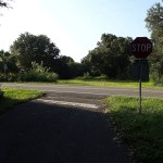 Nature Coast State Trail - Southern Terminus at SE 4th Ave, Chiefland