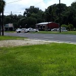 Nature Coast State Trail - US 19 Highway crossing at Fanning Springs