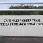 Cape Haze Pioneer Trail - East Branch Coral Creek Bridge