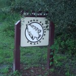 Fort Fraser Trail - Trail Sign