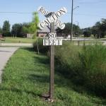 Fort Fraser Trail - Road Crossing Sign