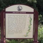 Fort Fraser Trail - Peace River Sign