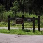 Trail Split Sign
