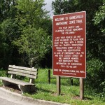 Hawthorne Trailhead Sign