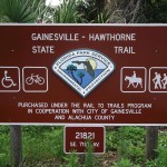 Hawthorne Trailhead Main Entrance Sign