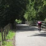 South Lake Trail - Cyclist