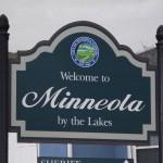 Lake Minneola Scenic Trail - Minneola Sign