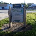 NE Coachman Park Trail Sign along Ream Wilson Trail