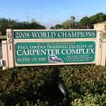 Carpenter Complex Sign along Progress Energy Trail