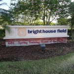 Brighthouse Field Sign along the Progress Energy Trail