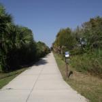 Venetian Waterway Park - Path of Caspersen Beach