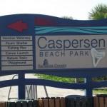 Venetian Waterway Park - Caspersen Beach Park Sign
