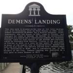 North Bay Trail - Demens Landing Sign