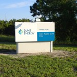 North Bay Trail - Duke Energy Bartow Plant Sign