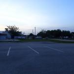 Phillips Park parking lot.