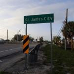 St. James City Sign