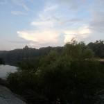Looking southeast across the Suwannee River