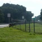 Suwannee River Greenway - Trail end at Ichetucknee River