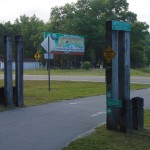 Withlacoochee State Trail - Holder Trailhead Sign
