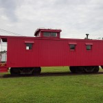 Withlacoochee State Trail - Inverness Trailhead Railroad Car