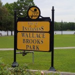 Withlacoochee State Trail - Wallace Brooks Park Sign